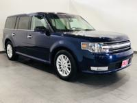 CARFAX One-Owner. Kona Blue Metallic 2016 Ford Flex SEL