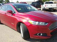 CARFAX One-Owner. Clean CARFAX. Red 2016 Ford Fusion