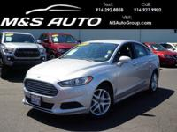 Our great looking 2016 Ford Fusion SE Sedan is