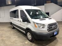 White 2016 Ford Transit-350 XLT RWD 6-Speed Automatic