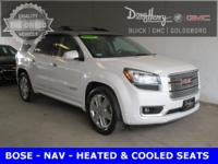 2016 GMC Acadia Denali AWD, Cocoa Dune w/Perforated