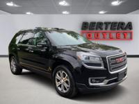 2016 GMC Acadia Ebony Twilight Metallic SLT-1 Rear