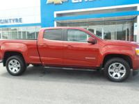 This used 2016 GMC Canyon in Lock Haven, PA comes with