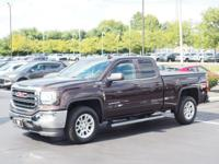 mahogany metallic 2016 GMC Sierra 1500 SLE 4WD 6-Speed