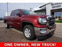 2016 GMC Sierra 1500 SLE CLEAN CARFAX, ONE OWNER, NEW