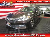 1 OWNER, CLEAN CARFAX, SUNROOF, BACK UP CAMERA,