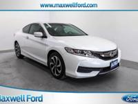 Maxwell Ford is excited to offer this 2016 Honda Accord