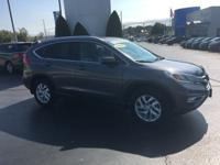 AWD. CARFAX One-Owner. Clean CARFAX. 2016 Honda CR-V