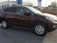 Clean CARFAX. AWD. Copper Sunset Pearl 2016 Honda CR-V
