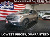 AWD.CARFAX One-Owner. Clean CARFAX. Brown2016 Honda