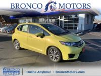 Yellow 2016 Honda Fit EX FWD CVT 1.5L I4Odometer is