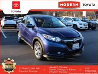 CarFax 1-Owner, LOW MILES, This 2016 Honda HR-V EX will