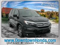 Black Forest Pearl 2016 Honda Pilot EX-L AWD 6-Speed