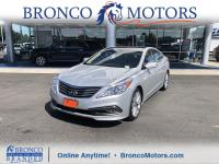 Silver 2016 Hyundai Azera Limited FWD 6-Speed Automatic