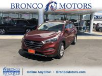 Red 2016 Hyundai Tucson Eco FWD 7-Speed Automatic 1.6L