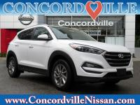 CARFAX One-Owner. Winter White 2016 Hyundai Tucson SE