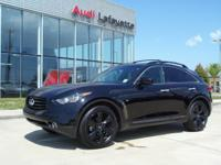 This outstanding example of a 2016 INFINITI QX70 is