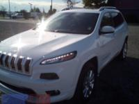 2016 Jeep Cherokee Overland Bright White Clearcoat 4WD