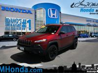 Introducing the 2016 Jeep Cherokee! Packed with