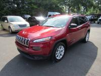 2016 Jeep Cherokee Sport FWDBLUETOOTH, CLEAN AUTOCHECK,