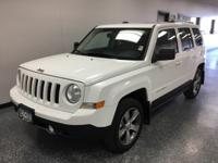 Bright White Clearcoat 2016 Jeep Patriot High Altitude