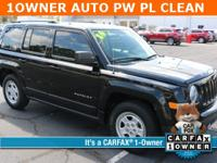 Black Clearcoat 2016 Jeep Patriot Sport FWD 6-Speed
