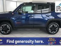 Trailhawk trim. LOW MILES - 24,355! PRICE DROP FROM