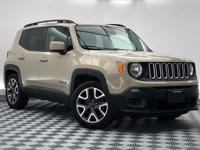 CARFAX One-Owner. Clean CARFAX. Renegade Latitude, 4D