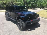 Black 2016 Jeep Wrangler Unlimited Rubicon 4WD 5-Speed