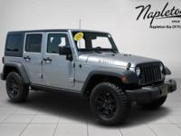 RARE 2016 Jeep Wrangler Unlimited Willys Wheeler Hard