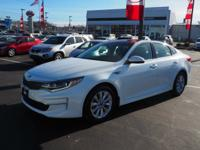 Snow White Pearl 2016 Kia Optima EX FWD 6-Speed