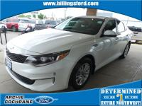 Snow White Pearl 2016 Kia Optima LX FWD 6-Speed