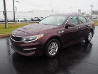 Sangria 2016 Kia Optima LX FWD 6-Speed Automatic with