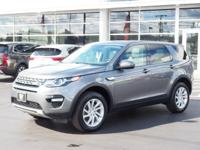 Gray 2016 Land Rover Discovery Sport HSE 4WD 9-Speed