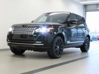 2016 Land Rover Range Rover V8 Supercharged 4WD! Loaded