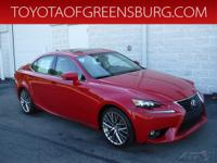 Redline 2016 Lexus IS 300 AWD 6-Speed Automatic
