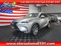 CARFAX One-Owner. Silver 2016 Lexus NX 200t AWD