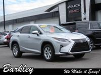 Silver 2016 Lexus RX 350 AWD 8-Speed Automatic 3.5L V6