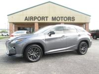 2016 LEXUS RX 350 AWD 4D SUV F SPORT  Air Conditioning