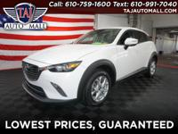 CARFAX One-Owner. Crystal White Pearl Mica2016 Mazda