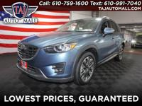 CARFAX One-Owner. Blue2016 Mazda CX-5 Grand Touring AWD