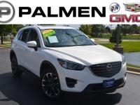 Crystal White Pearl 2016 Mazda CX-5 Grand Touring AWD