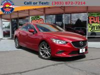 Feast your eyes on this 2016 Mazda6 I Touring Sedan