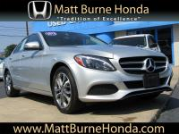 This Mercedes-Benz C-Class is a local trade with one