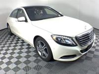 Recent Arrival!2016 Mercedes-Benz S-Class. This