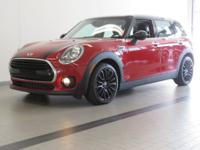 2016 MINI COOPER CLUBMAN! ONE OWNER! BLAZING RED