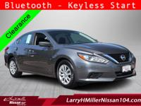 This 2016 Nissan Altima 2.5 is proudly offered by LHM