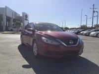 CARFAX One-Owner. Cayenne Red 2016 Nissan Altima 2.5 S