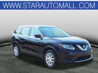 AWD.2016 Nissan Rogue S S Magnetic Black CARFAX
