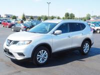 Brilliant Silver 2016 Nissan Rogue SV AWD CVT with